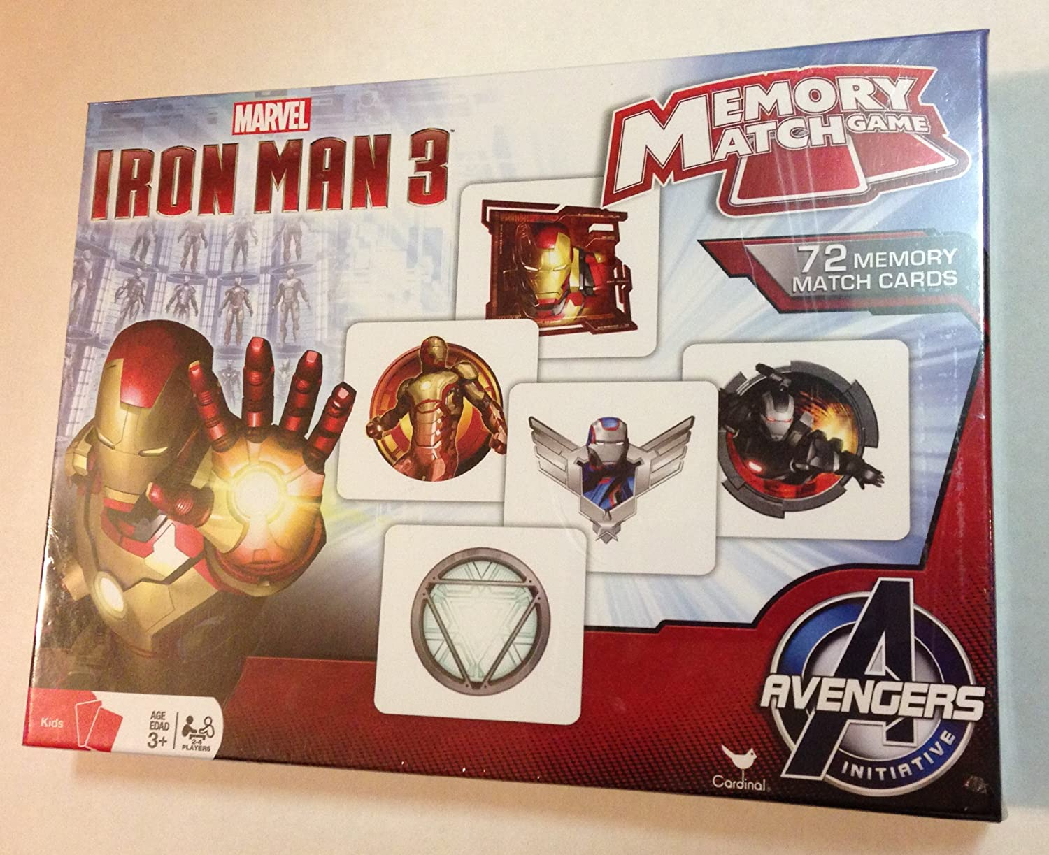 Iron Man 3 Memory Match Game by Cardinal