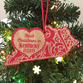 First Christmas in Kentucky 2019 Christmas Ornament