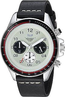ساعة فيستال بسوار من الستانلس ستيل ياباني- ZR2 - اسود، 20 سم - ZR243L03.BKWH