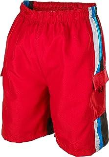 Phantom Aquatics Seaboard Surf Wear Mens Swim Trunks, Red, X-Large