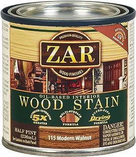 ZAR 11506 1/2PT Mod Stain, Modern Walnut
