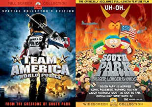 Trey Parker & Matt Stone Collection - Team America: World Police (Special Collector's Edition, Full Screen) & South Park: Bigger, Longer & Uncut (Widescreen Edition) 2-DVD Bundle