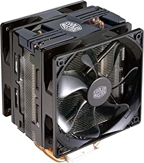 Cooler Master Hyper 212 LED Turbo Black Cover CPU Air Cooler '4 Heatpipes, 2X 120mm PWM Fans, Red LED' RR-212TK-16PR-R1