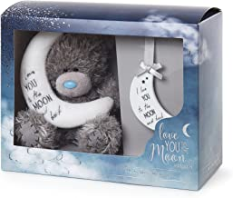 Me To You Me Love You to The Moon and Back Bear and Plaque Set de Regalo