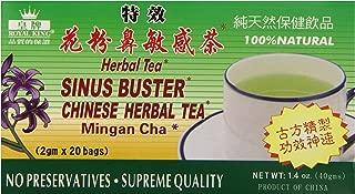 Best royal king sinus buster chinese herbal tea Reviews