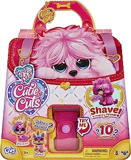 Little Live Pets 30146 Scruff-a-Luvs Cutie Cuts Shave, Reveal and Style, Plush Rescue pet