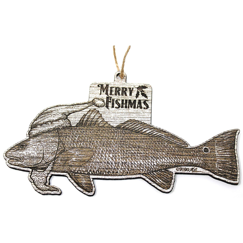 Redfish unisex Christmas Ornament High quality