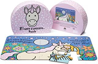 Jellycat If I were a Unicorn Puzzle for Toddlers, 15 Pieces
