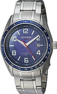 Armitron Men's 20/5252NVSV Solar Powered Date Calendar...