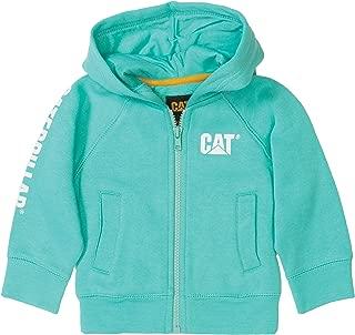 Caterpillar Kid's Trademark Banner Zip Sweatshirt