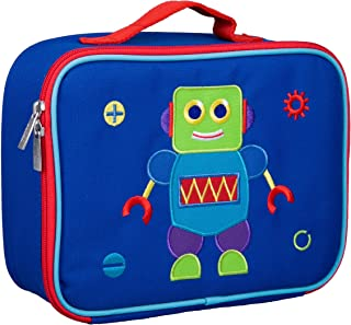 (One Size, Robot) - Olive Kids Embroidered Lunch Box, Robot, One Size