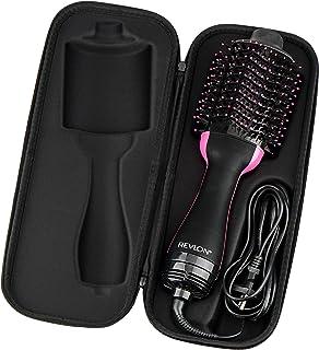 Brappo Hard Travel Case for Revlon One-Step Hair Dryer & Volumizer& Styler (BLACK)