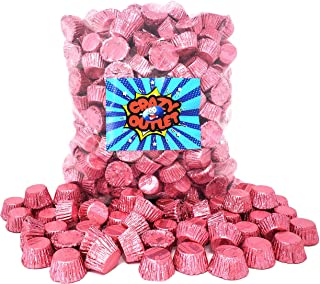 CrazyOutlet Pack - Reese's Miniatures Peanut Butter Cups, Pink Foils Milk Chocolate Candy, It's a Girl Candy, 2 lbs