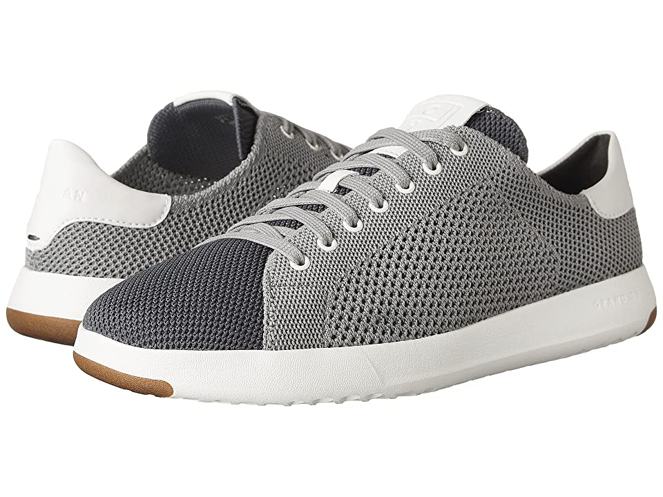 Cole Haan Grandpro Tennis Stitchlite (Magnet/Optic White/Optic White) Men