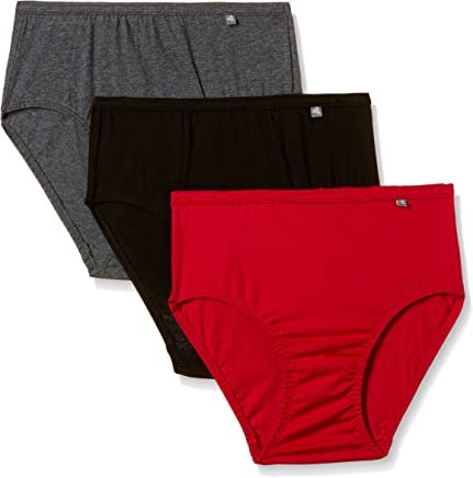 Jockey Women's Cotton Hipster (Pack of 3) (Colors may vary)