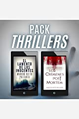 PACK THRILLERS: Los crímenes post mortem + El lamento de los inocentes Versión Kindle