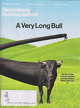 Bloomberg Businessweek September 17, 2018 A Very Long Bull