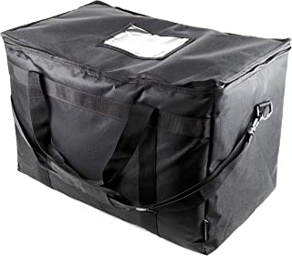 SB Organics Large Commercial Insulated Thermal Food Delivery Bag - Waterproof Bag Great for Grocery Shopping, Catering Sup...