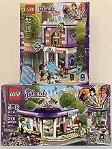 LEGO Friends Emma's Art Studio & LEGO Friends Emma's Art Café