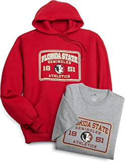 Russell Athletic Men's Logo Tee and Sweatshirt, Florida State