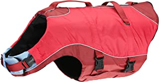 Kurgo Surf n' Turf Dog Life Jacket | Lifejacket for Dogs | Dog Water Life Vest | Kayak Life Jacket for Pets | Dog Rain Jac...