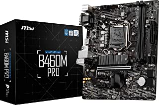MSI B460M PRO マザーボード MicroATX [Intel B460チップセット搭載] MB4980