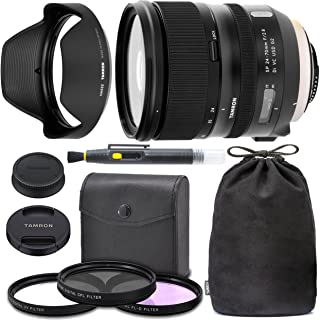 TamronSP 24-70mm f/2.8 Di VC USD G2 Lens for Canon EF with Tamron Case, Original Hood, Ultraviolet Filter (UV) Polarizing...
