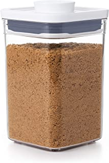 NEW OXO Good Grips POP Container - Airtight Food Storage 1.1 Qt - Square - Brown Sugar 11234000UK