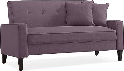 Amazon.com: Susan Contemporary Velvet 3 Seater Sofa, Teal ...