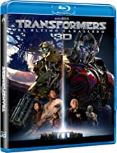 TRANSFORMERS: El Ultimo Caballero (TRANSFORMERS: The Last Knight) BLU-RAY 3D + BLU-RAY (English, Spanish, French & Portuguese Audio & Subtitles) IMPORT