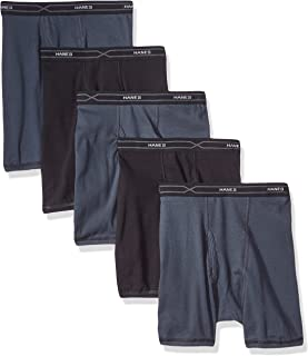 Hanes Men's 5-Pack X-Temp Comfort Cool Assorted Boxer Briefs