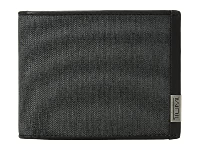Tumi Alpha Global Wallet w/ Coin Pocket (Anthracite/Black) Wallet Handbags