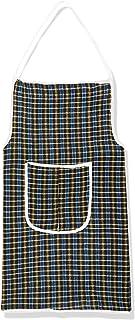 Kuber Industries Cotton 6 Piece Kitchen Apron with Front Pocket Set - Multicolour