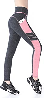 EAST HONG Women's Yoga Leggings Exercise Workout Pants Gym Tights
