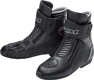 Cuir Nubuck 36-47 Respirante Semelle antid/érapante en Caoutchouc Fonctionnel FLM Chaussures de Moto Hommes et Femmes Bottes de Moto Chaussure de Ville Cheville renforc/ée Semelle Ergonomique