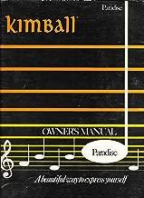 Kimball Owner's MAnual Paradise (for Organ)