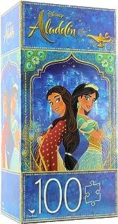 "Cardinal Puzzle Disney Aladdin, Jasmine and Dalia, 11""x15"", 100 Pieces"