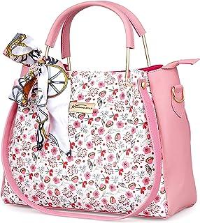 Shining Star Women Peach Hand-held Bag (Pack of: 1)