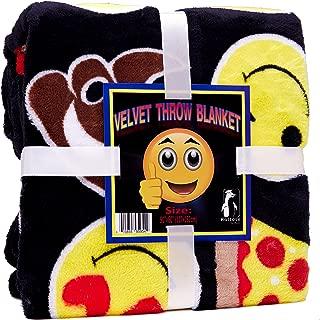 Best emoji blanket twin Reviews