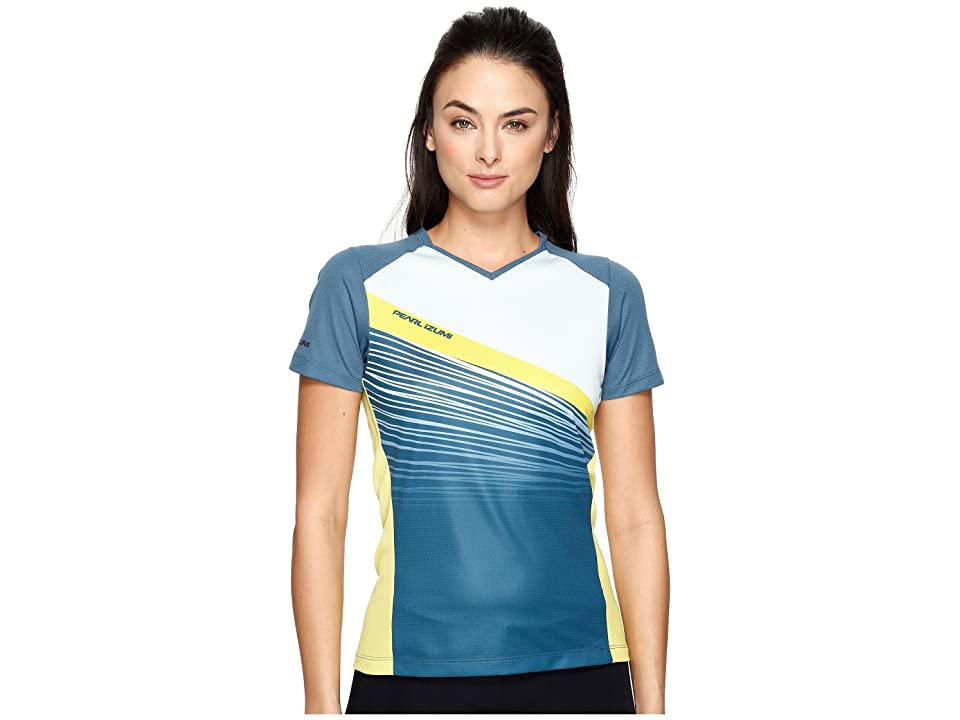 Pearl Izumi Launch Jersey (Blue Steel/Skylight Fracture) Women