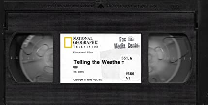 Telling the Weather (Introduces Students to Basic Weather Facts) [Grades 4-9] VHS VIDEO