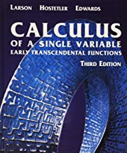 Calculus of a Single Variable: Early Transcendental Functions Third Edition