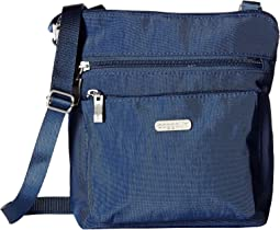 Baggallini Pocket Crossbody Bag with RFID Wristlet