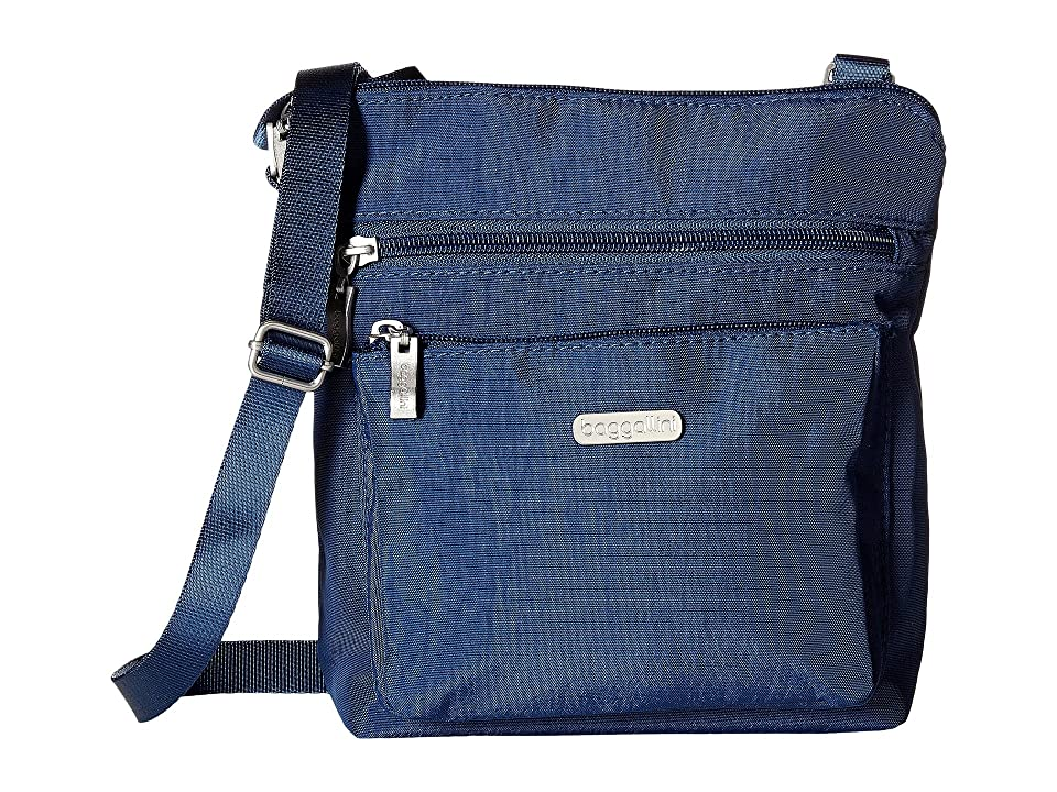 Baggallini Crossbody Bag w/ RFID Wristlet (Pacific) Cross Body Handbags