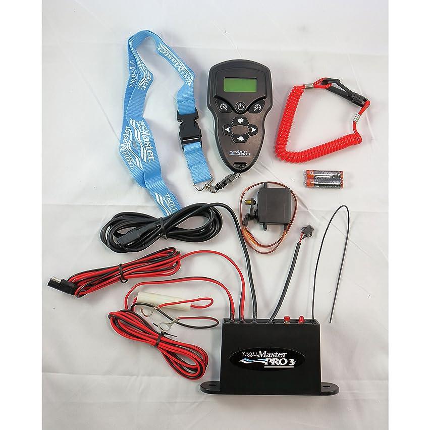 TrollMaster TM201HWKIT PRO3 Plus Hardware Kit (Mercury (1990-2004), Yamaha 9.9, 15HP (1989-2006))