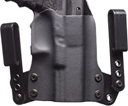 Black Point Tactical Mini Wing IWB Holster Fits Glock 19/23/32, Right Hand, Black