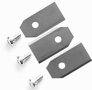 12 cuchillas de repuesto (0,6 mm) para cortacésped Husqvarna Automower & Gardena 9 0,6 mm/2,4 g