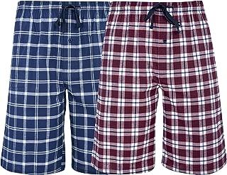 Men's & Big Men's Woven Stretch Pajama Shorts – 2 Pack
