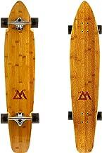 "MOOSE Longboard Skateboad Deck 9/"" x 40/"" Kicktail Cruiser Maple"