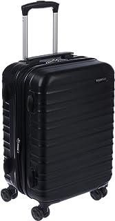 AmazonBasics Valise de voyage à roulettes pivotantes, Noir, 55 cm